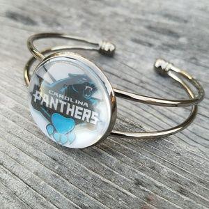 Jewelry - Carolina Panthers Cuff Bangle